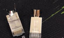 Đầu bấm hạt mạng Cat6A FTP chống nhiễu