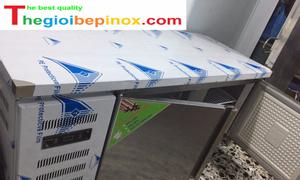 Bàn mát hai cánh inox giá rẻ tại Bắc Ninh
