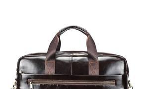 Túi xách nam da mã TTA9107352-CF thương hiệu Đồ Da Tâm Anh