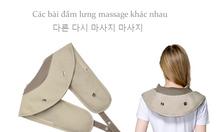 Đai đấm lưng massage vai gáy cổ ayosun Hàn Quốc