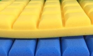 Tấm mút tiêu âm hình ô vuông có nhiều màu, tán âm, tiêu âm phòng thu