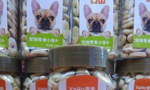 Bánh thưởng bổ sung canxi cho chó
