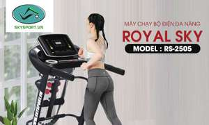 Máy chạy bộ đa năng ROYAL SKY RS-2505