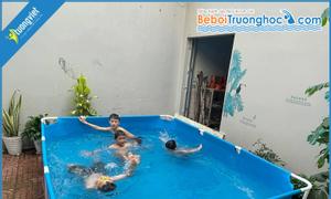 Bể bơi mini KT 3.1x2.2x0.8m