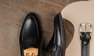 Giày lười da nam Penny Loafer mã GNLA1199-D