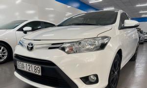 Bán xe Toyota Vios 1.5E số tự động, đời 2018, màu trắng
