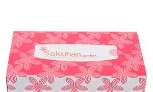 Khăn giấy hộp giá rẻ, khăn giấy hộp sakuhan