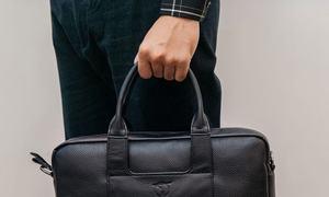 Cặp nam công sở dáng Briefcase TTA918310106-D hiệu Tâm Anh