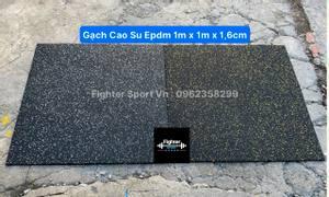 Gạch cao su Epdm phòng Gym Hà Nội