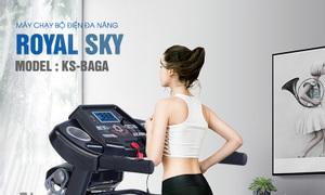 Máy chạy bộ đa năng ROYAL SKY RS-Baga HCM