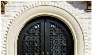 Bật mí mẫu cửa đi, cửa sắt uốn nghệ thuật được tìm kiếm nhiều