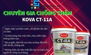 Chống thấm kova CT11A cho sàn và tường