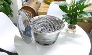 Bếp nướng than hoa không khói Hàn Quốc, hút khói lên trên
